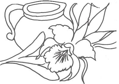 risco pintura em tecido pano de prato guia de cores