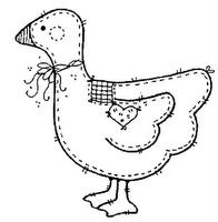 risco pintura em tecido country folk art apliqué