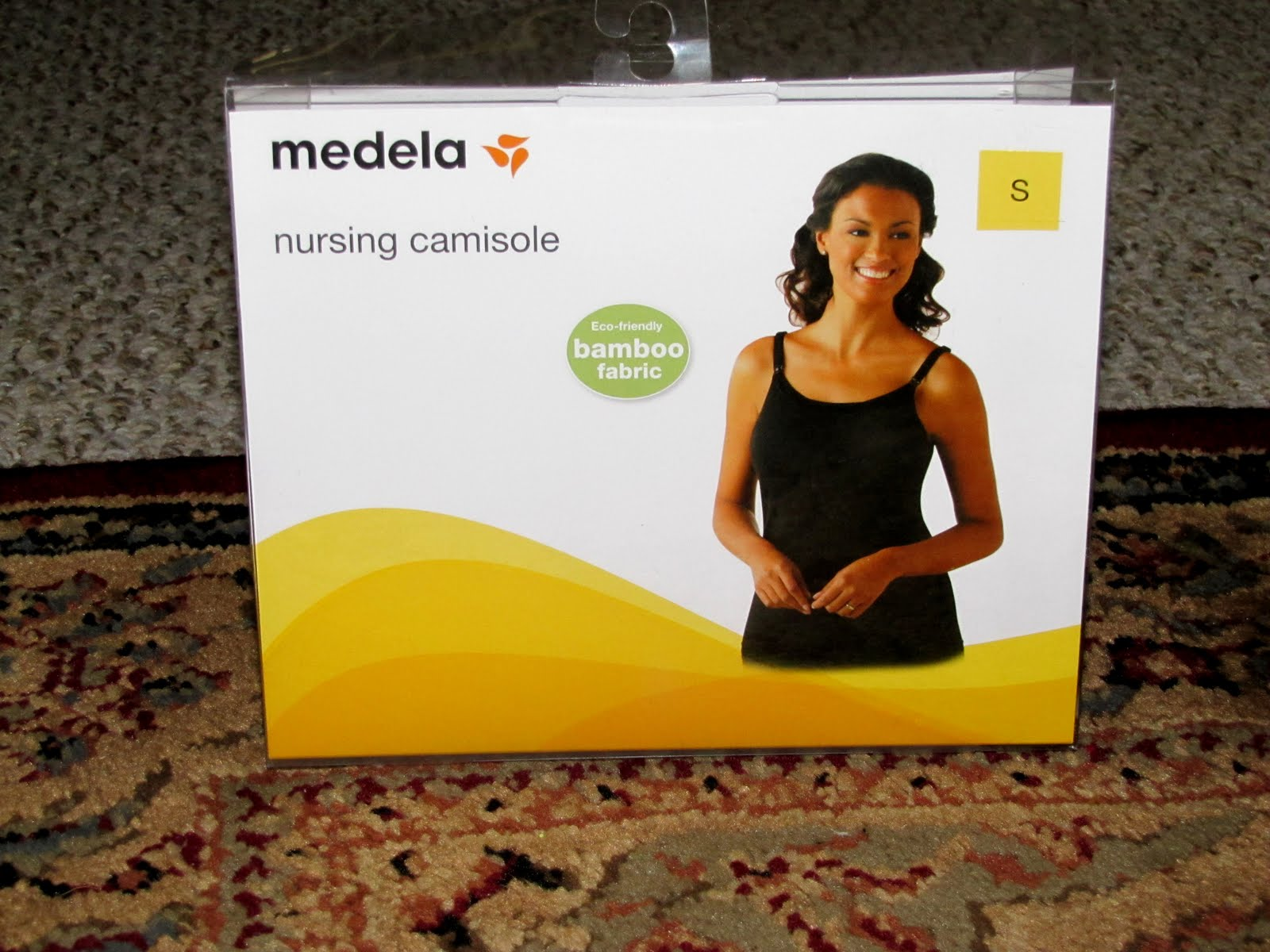 eae02c39fc Medela Nursing Camisole Review and Giveaway!