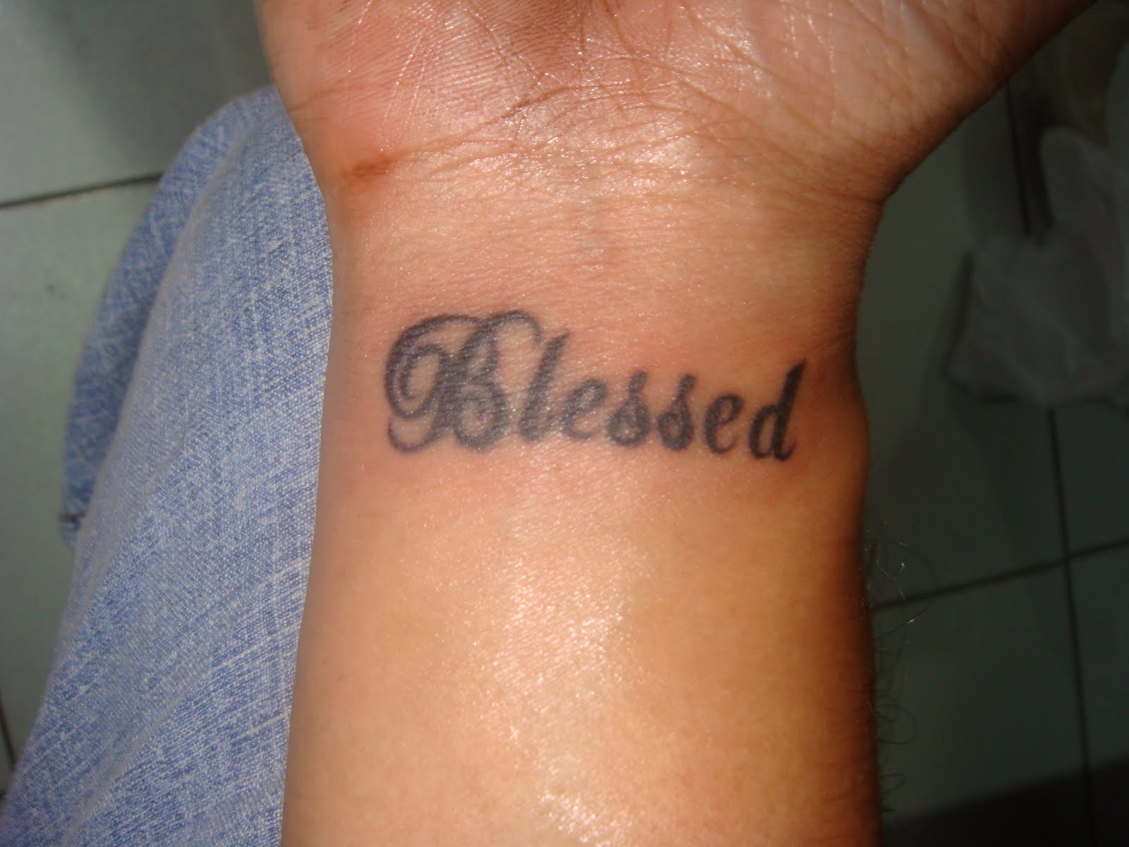 Sin City Tattoos Blessed