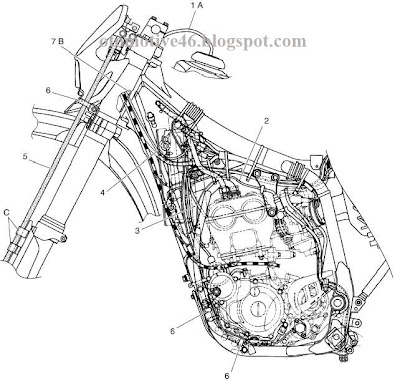 Yamaha Wr250f Diagram