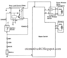Into2046 Otomotive Toyota Hilux Pickup Power Window Control System