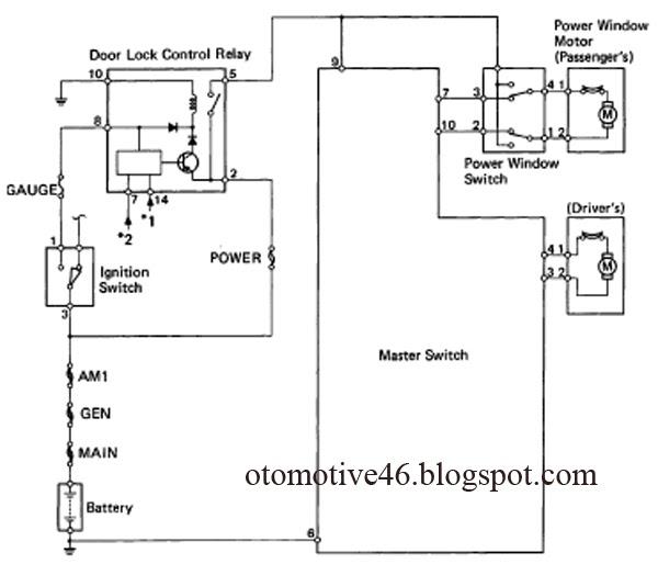 into2046 otomotive: Toyota Hilux Pickup Power Window