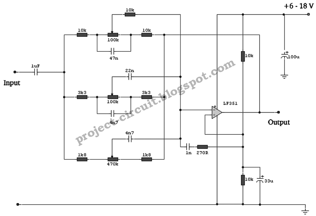 electronics technology 3 band equalizer circuit. Black Bedroom Furniture Sets. Home Design Ideas