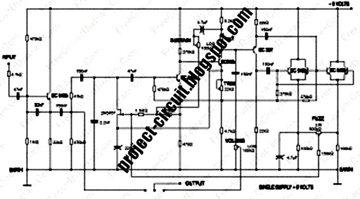 free project circuit schematic carlin fuzz compressor. Black Bedroom Furniture Sets. Home Design Ideas