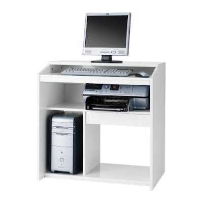 mesa de ordenador goliat blanca de ikea ya no se fabrica. Black Bedroom Furniture Sets. Home Design Ideas