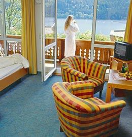 la chambre avec vue sur le lac
