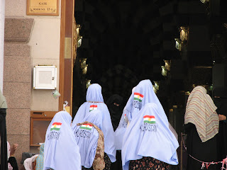 Hilda Basar's: Women of Hajj: The Americans, the mother in ...