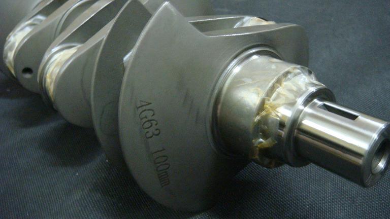 HYBRID POWER: Evo 1-9 4G63/4g64 100mm 2 3L stroker crankshaft