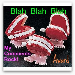 My Comments Rock Award