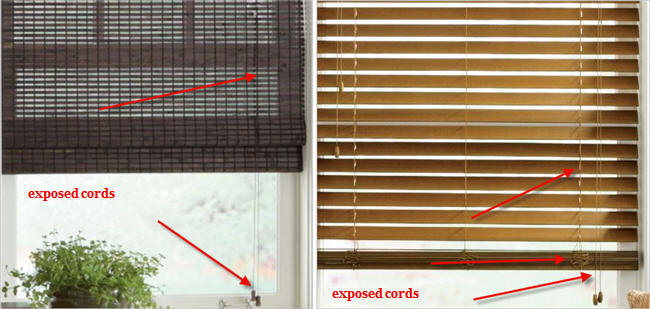 cords on window blinds