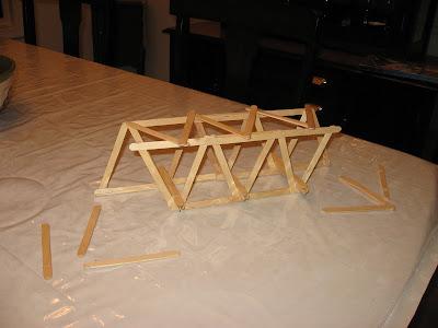 100 Popsicle Stick Bridge Blueprints