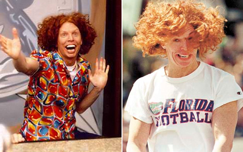 Carrot Top S Before And After Plastic Surgery Photos Celebrity