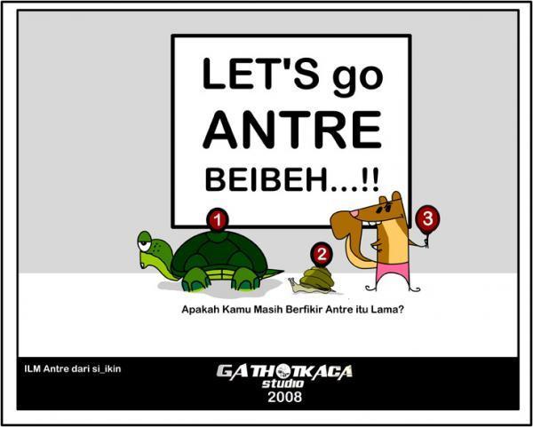 Let's go Antre Beibeh