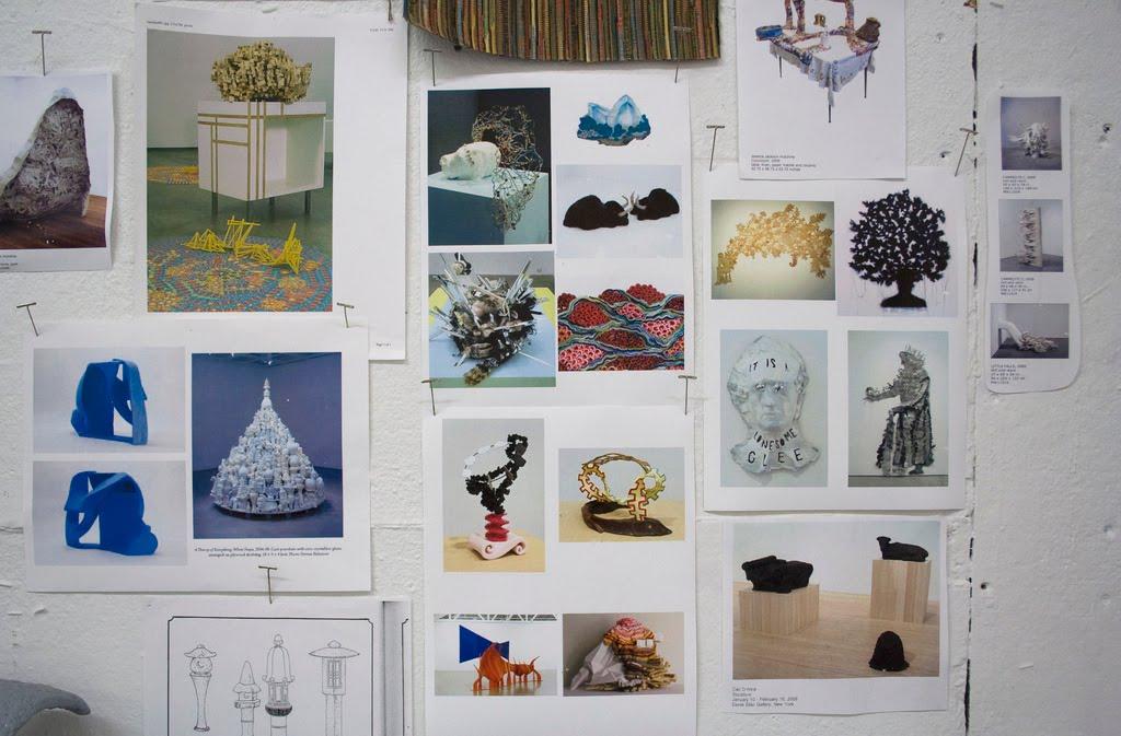 Jessica Pezalla Studio Walls