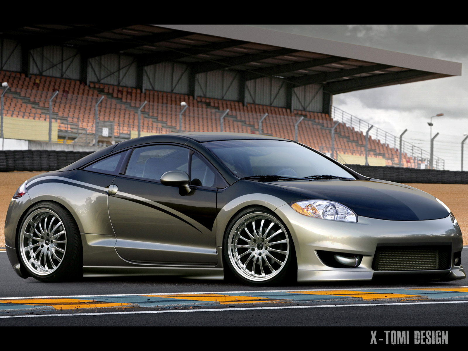 x tomi design mitsubishi eclipse gt tuning mag edition. Black Bedroom Furniture Sets. Home Design Ideas