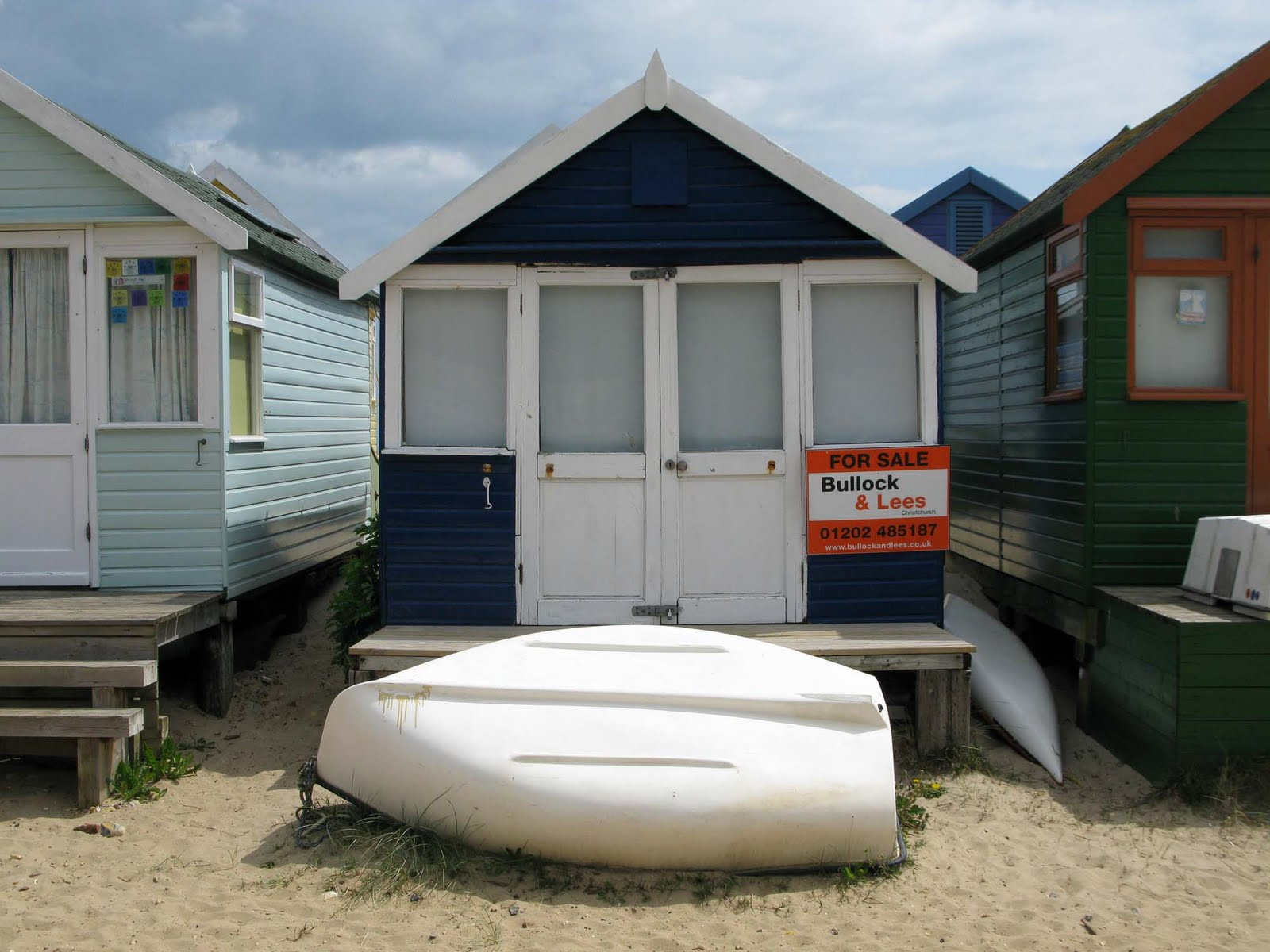 Aub Architecture Mudeford Beach Huts