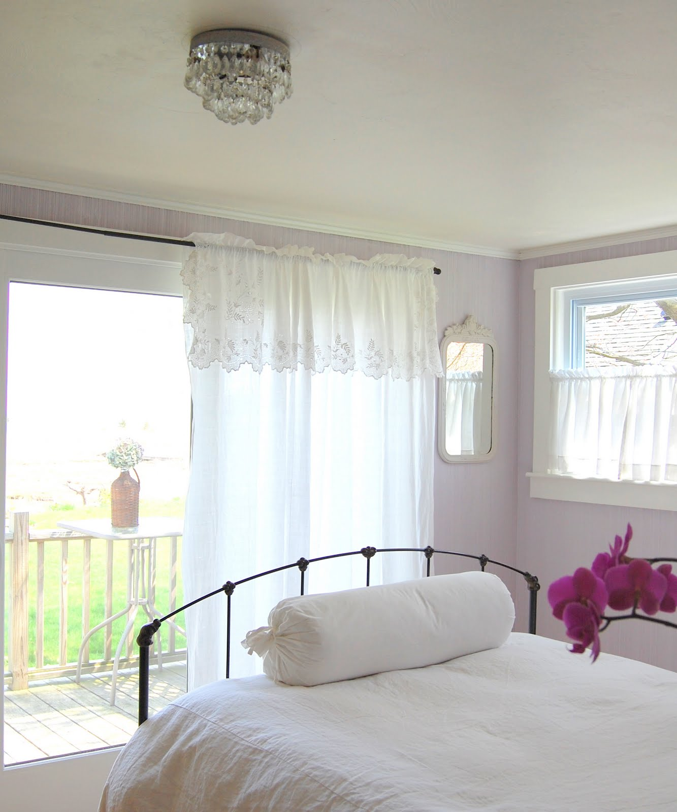Bedroom Paint: Tresor Trouve: French Lavender Gray Walls...check