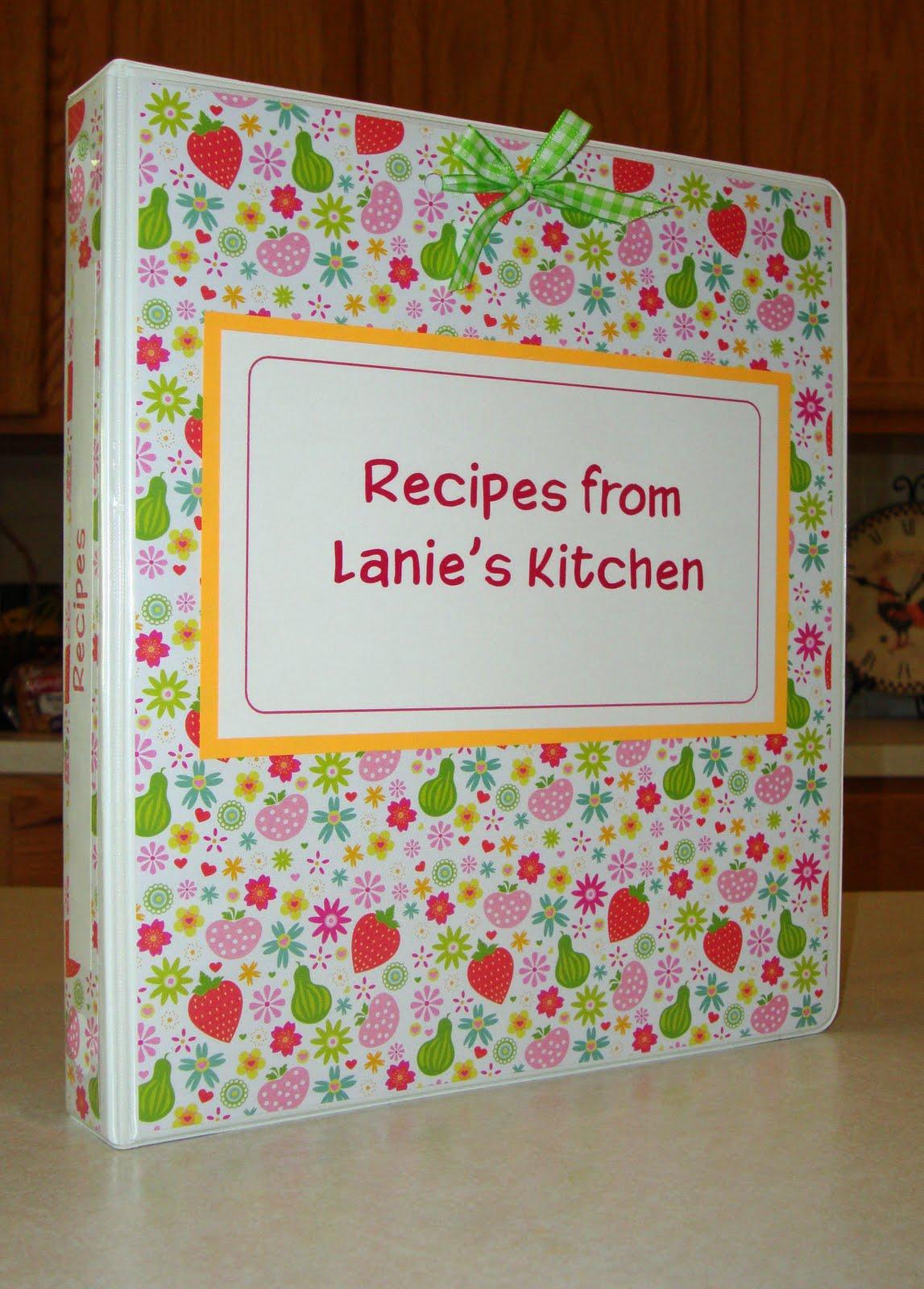 Kitchen Recipe Binder
