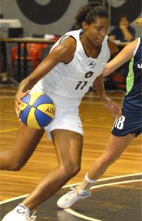 Josiane, do Botafogo / Foto: CBB