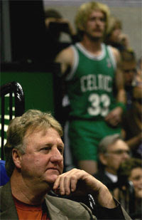 Larry Bird / Foto: NBA