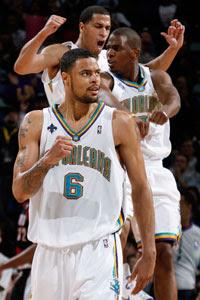Chandler, Pargo e Paul / Foto: NBA