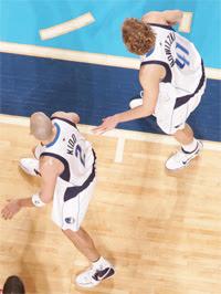Kidd e Nowitzki / Foto: NBA