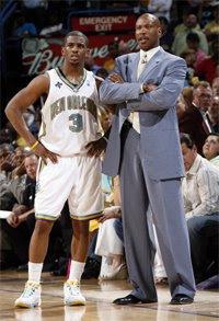 Chris Paul e Byron Scott / Foto: NBA