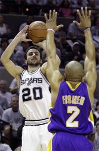 Manu Ginóbili / Foto: NBA