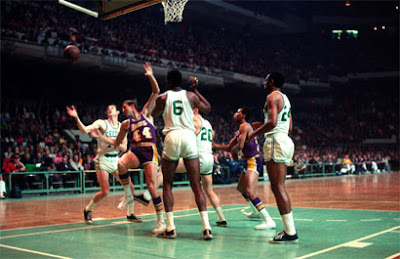 Celtics x Lakers, 1968 / Foto: NBA