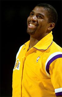 Magic Johnson / Foto: NBA