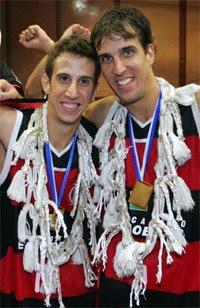 Duda e Marcelinho / Foto: CBB