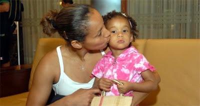 Adrianinha e Aaliyah / Foto: Alexandre Durão