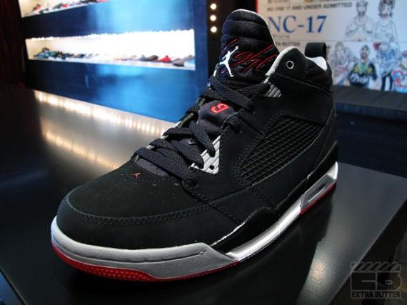 finest selection e17e4 bdd98 Air Jordan Flight 9 Black Cement Grey Varsity Red Available