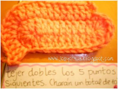 Como tejer escarpines a crochet