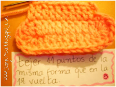 ✿JosyCrea✿.。.   Tejido a Crochet y Más!  Como tejer escarpines a ... e12b6e0330e