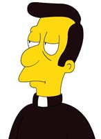 Rev. Timothy LoveJoy from the Simpsons