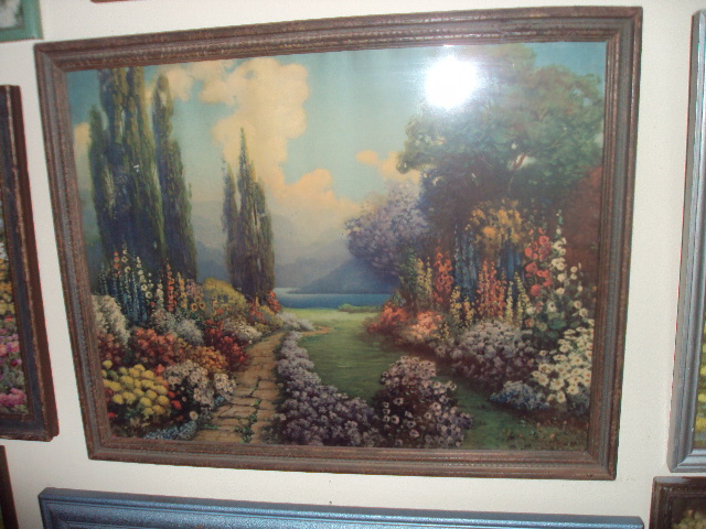 Antique Art Garden R Atkinson Fox Original Prints At My