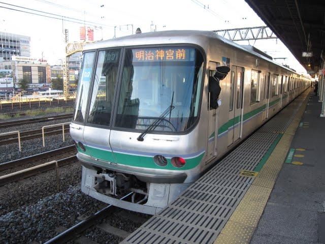 常磐線 東京メトロ千代田線直通 明治神宮前行き3 06系