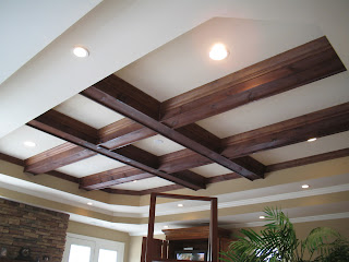 Jason Johns Faux & Specialty Paint: Tray ceiling beams ...