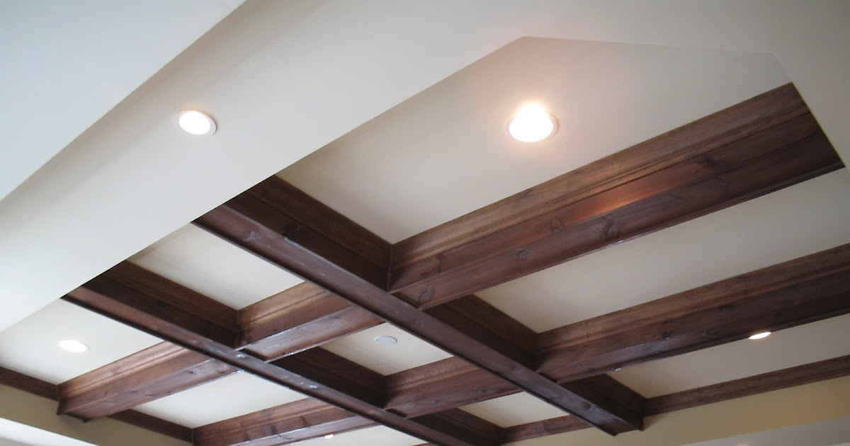 Jason Johns Faux Amp Specialty Paint Tray Ceiling Beams