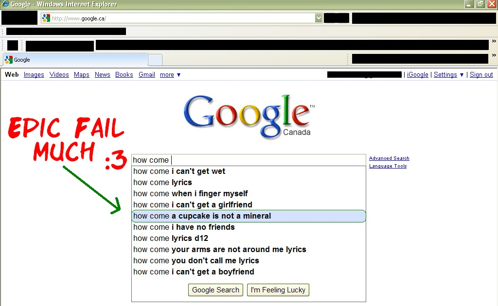 Maxxellion's Blog: Fun With Google: People Search The
