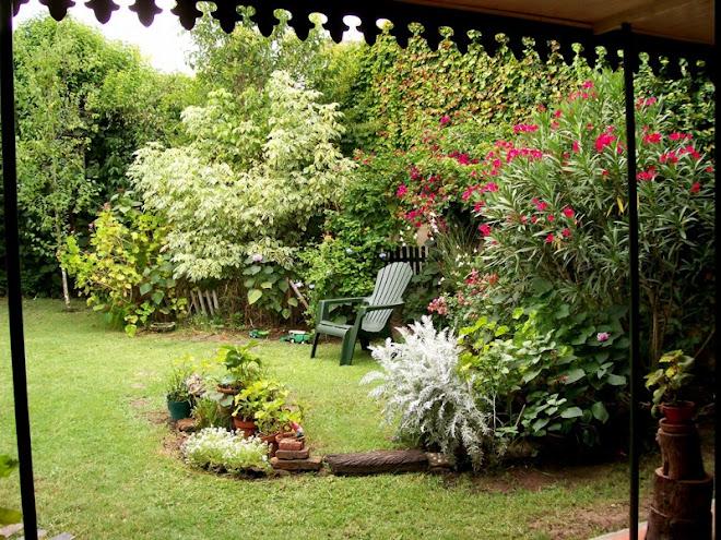 desde el jardin...