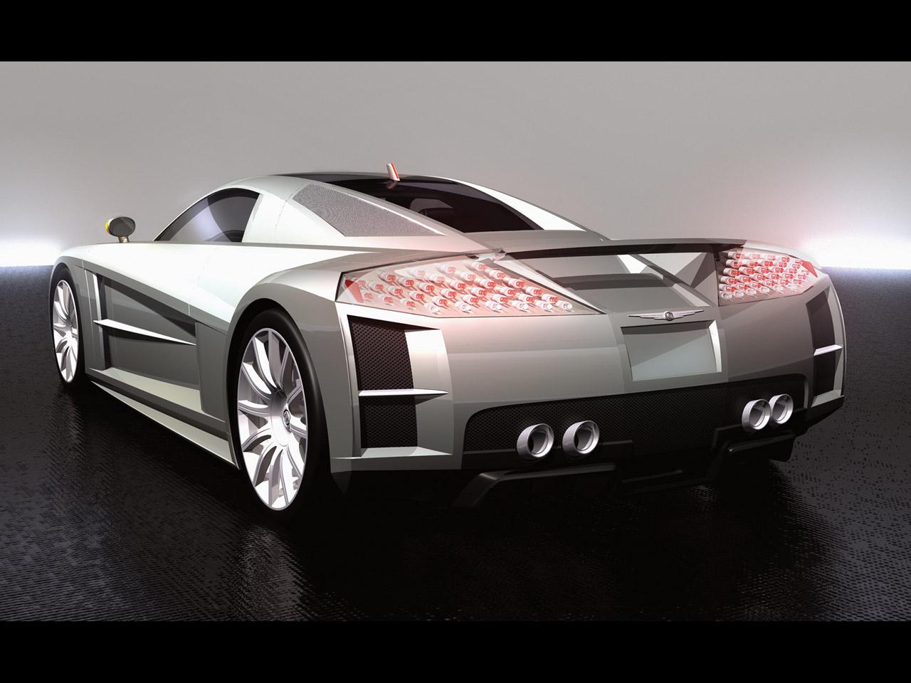 fast concept supercars chrysler me four twelve. Black Bedroom Furniture Sets. Home Design Ideas