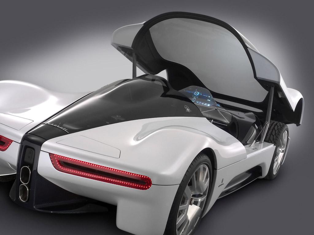 Fast Concept Supercars: Maserati Pininfarina 75th Birdcage
