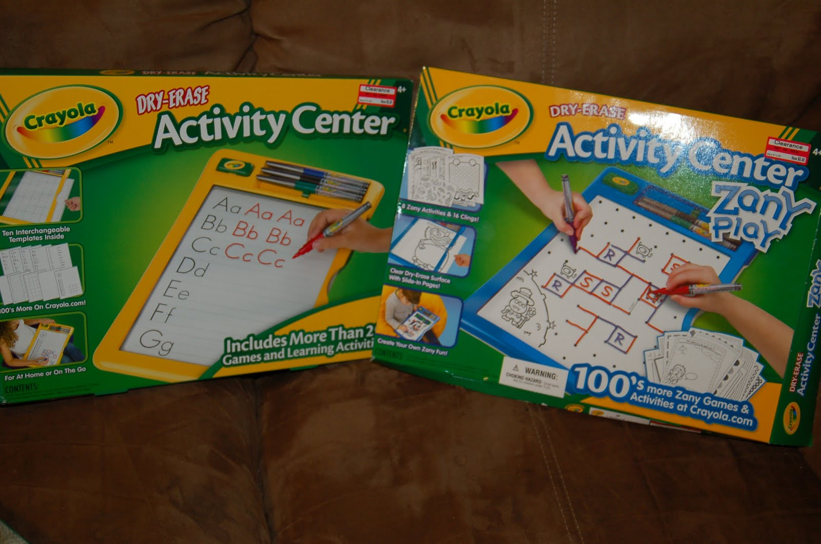 Crayola Dry Erase Activity Center Product Review