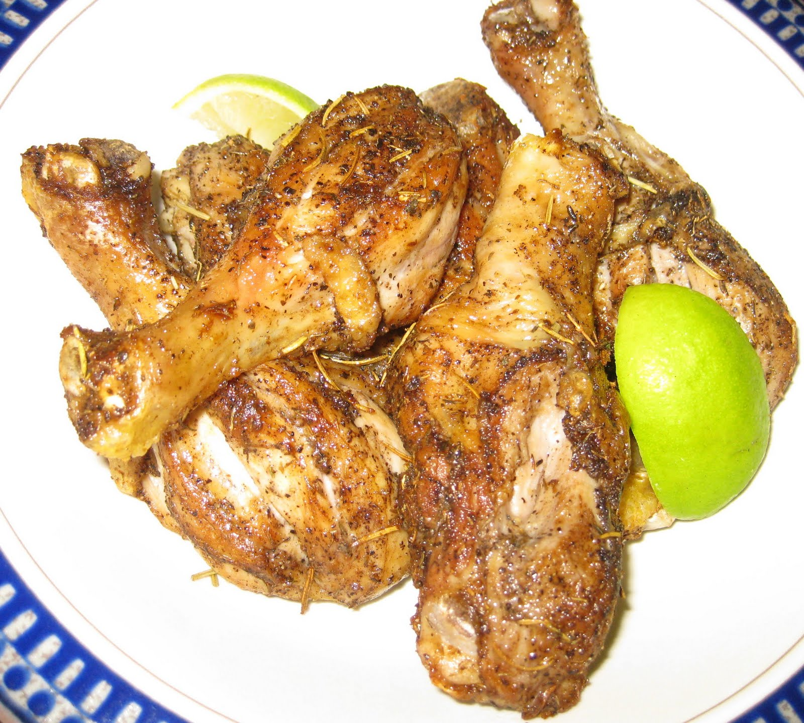 Cheenachatti Pan Seared Chicken Legs