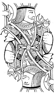 free coloring pages king of hearts | omecca: Playing Card Jacks