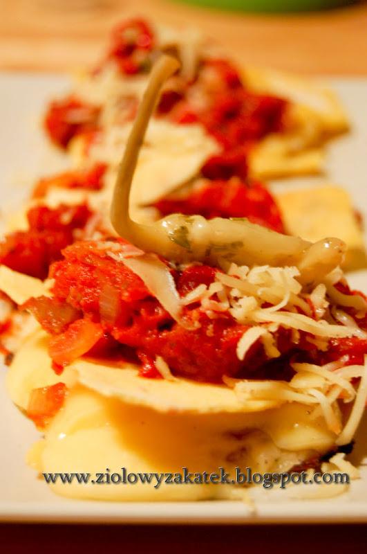 Tortilla – Quesadillas. Serowo – bez mięsa