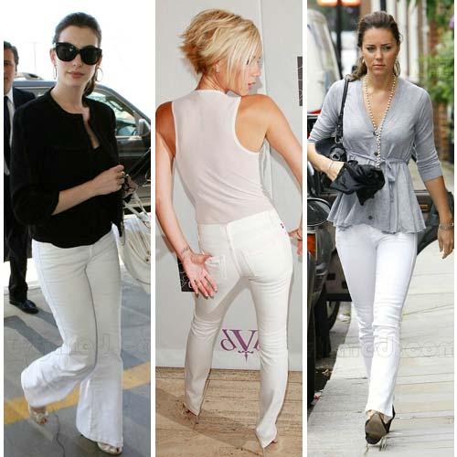 Tips Padu Padan Jeans Putih